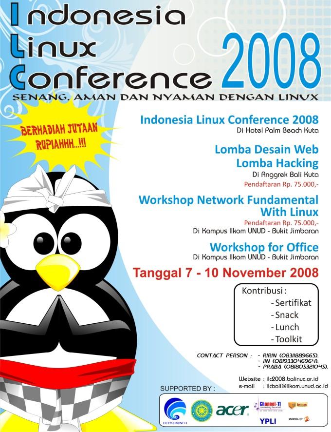 Poster ILC 2008 Bali